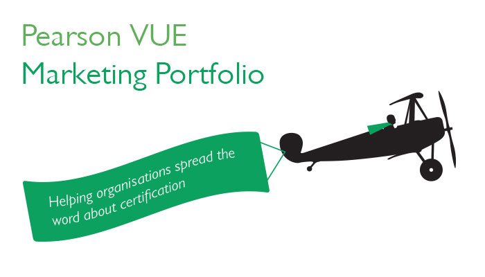 Pearson VUE offers comprehensive marketing services to support your programme